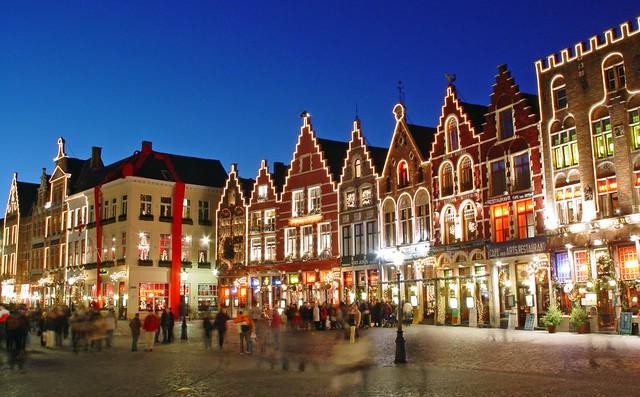 Bruges Christmas.Christmas In Brugge Bruges Restaurants With Christmas Li
