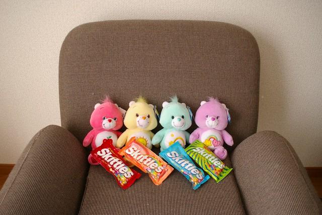 skittle bears
