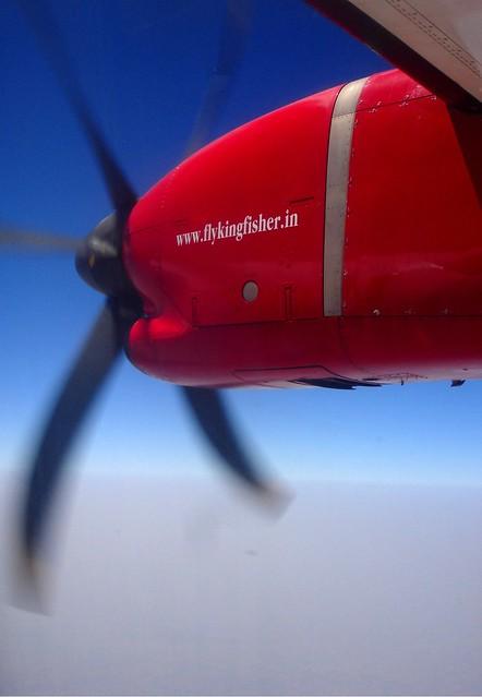 In Flight, VT-KAD ATR72-200