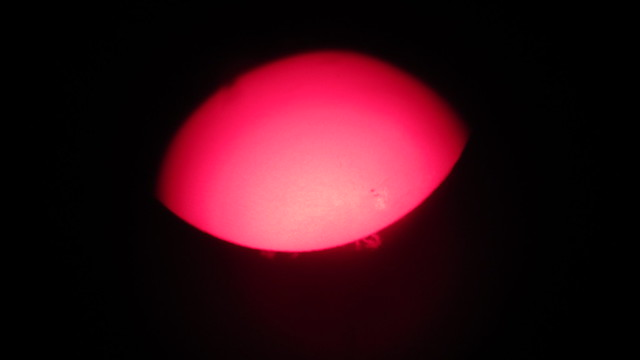 IMG_8188 Lunt 80mm sun solar prominences sunspots
