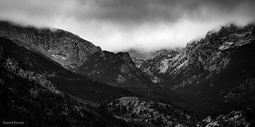 Rocky Mountains in the clouds | by dkinner