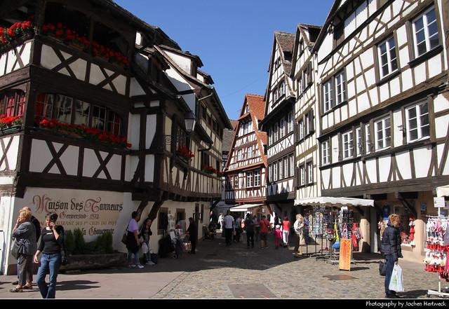 Maison des Tanneurs & Place Benjamin-Zix, Petite France, Strasbourg, France