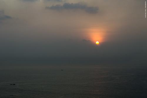 ocean morning travel sea india sunrise boat fishing nikon novotel vizag bayofbengal vishakapatnam andhrapradesh