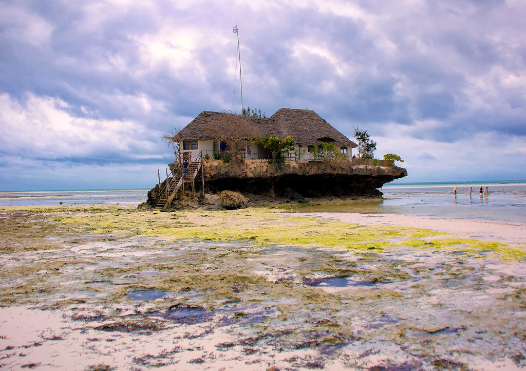 The Rock Restaurant, Zanzibar (explore)