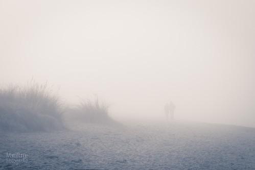 Walk on a misty beach | by MRFotografie
