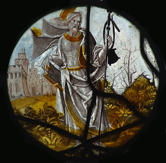 St James and pilgrim staff  (continental)