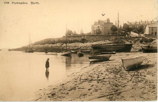 Borth y Gest 1913