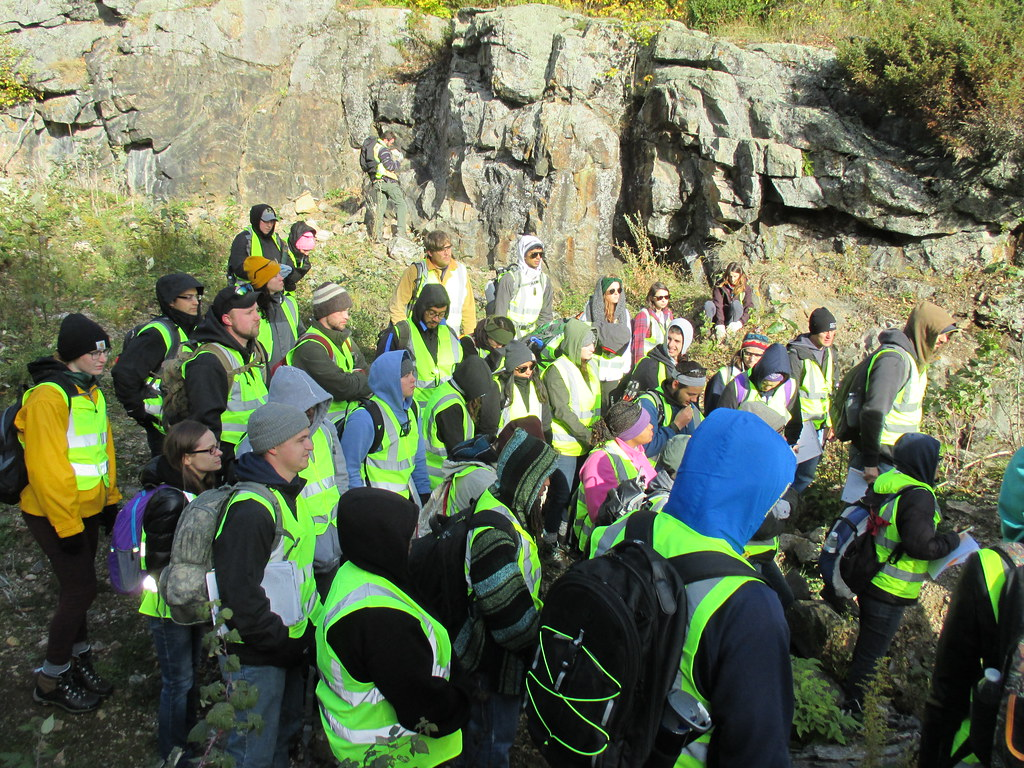 The annual #WSUCLAS mineralogy field trip takes geology an
