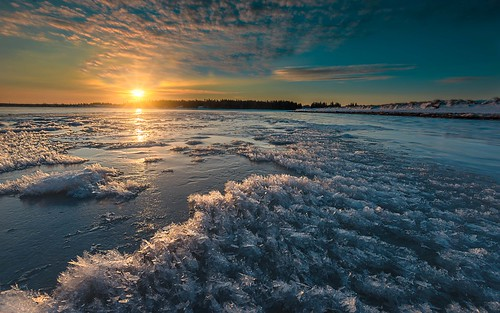 Ice crystals on the shore | by Alec_Hickman