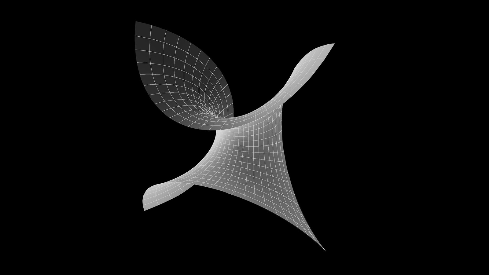 Minimal Surface - Enneper (cartesian)