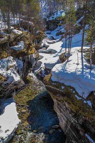 spring stream setermoen tverrelva bardujord