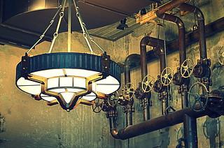 Light Fixtures Pipes And Valves Hotel Emma San Antonio