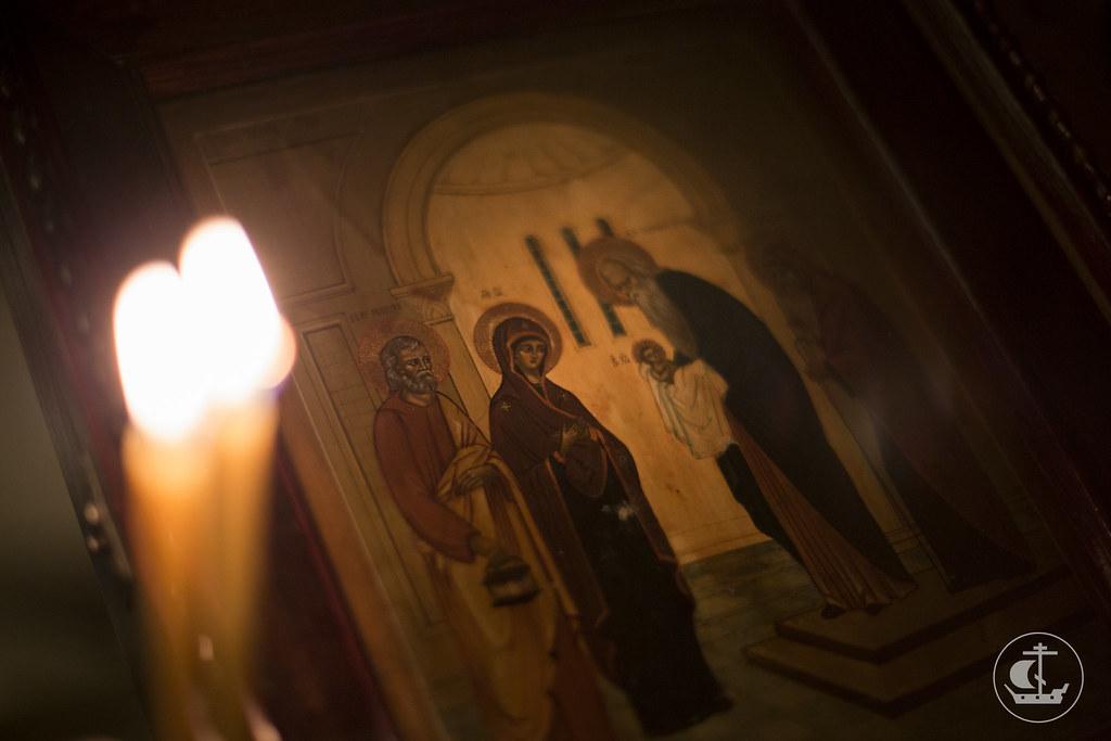 20 февраля 2016, Всенощное бдение / 20 February 2016, All-night Vigil