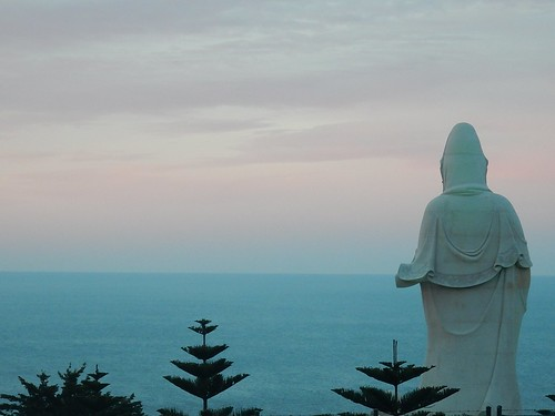Buddha Watching Over the Australian Coastline | by mikecogh