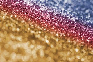 Sparkling Multi-Colored Glitter Background