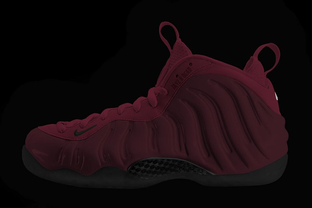 factory authentic b729e f8694 Holiday 2016 Foamposite One Night maroon/maroon-black 3149 ...
