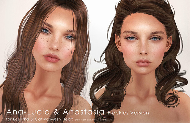 Ana-Lucia & Anastasia Freckles Version