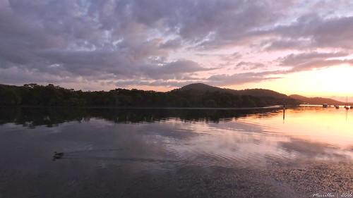 sea sky water clouds sunrise dawn nikon scenery australia views nsw coolpix daybreak brisbanewater woywoy p600 seaviews nswcentralcoast centralcoastnsw