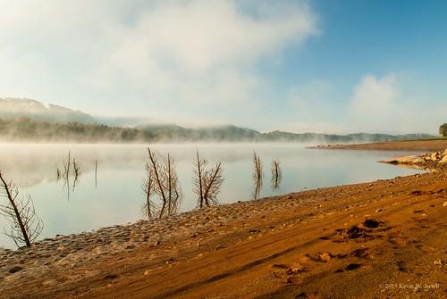 fog morninglight naturalbeauty waterways cherokeelake nikond60 graingercounty rutledgetennessee backroadphotography
