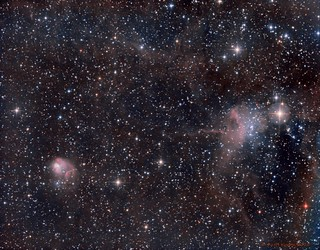 NGC1931 and IC417 | by Mickut