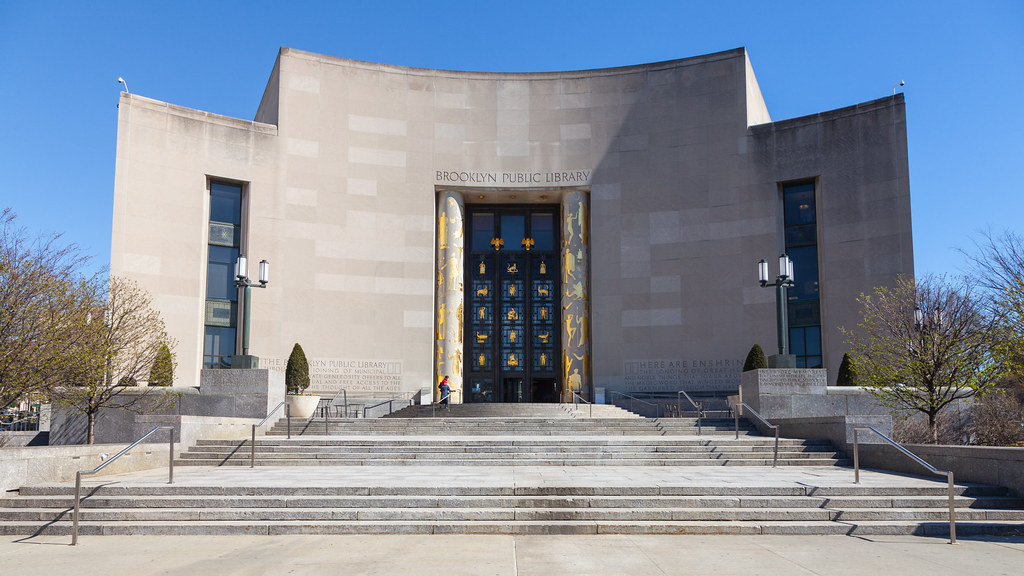 The Central Library of the Brooklyn Public Library - free things to do in nyc