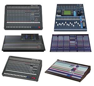 A nagyobb koncertekre is alkalmas a hangtechnikánk.
