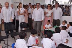 El gobernador Javier Duarte inauguró la Escuela Primaria Juan Maldonado Pereda 19