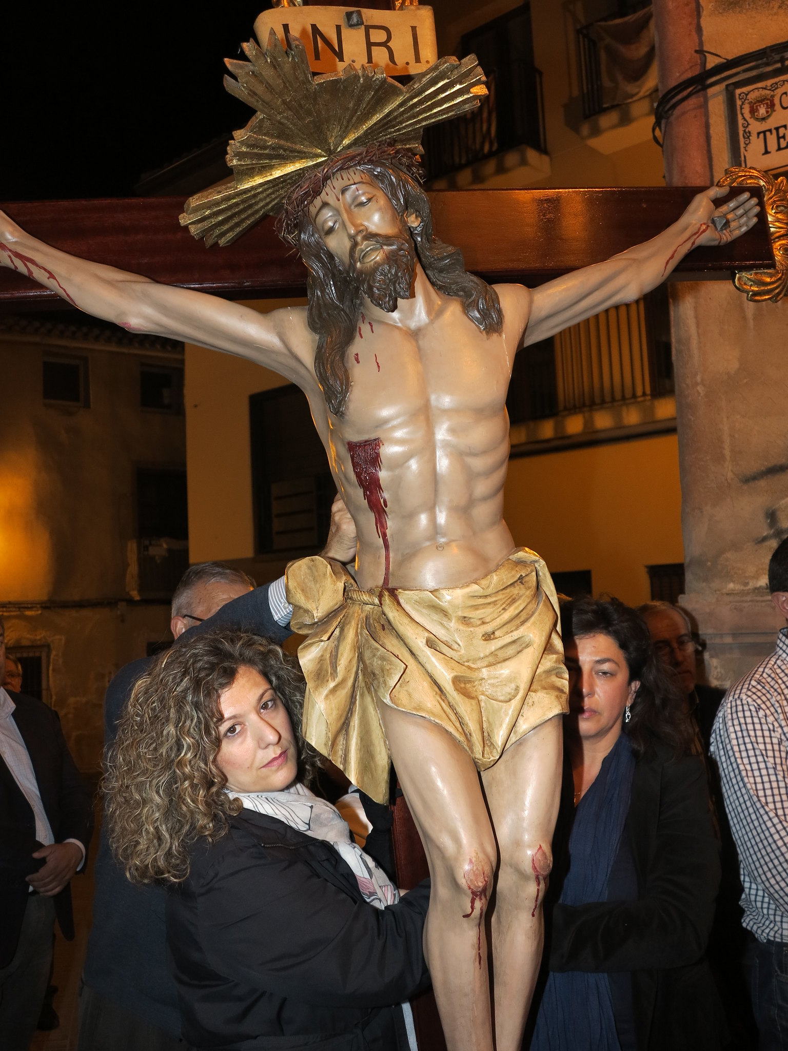(2014-04-01) - V Vía Crucis nocturno - Antonio José Verdú Navarro (42)