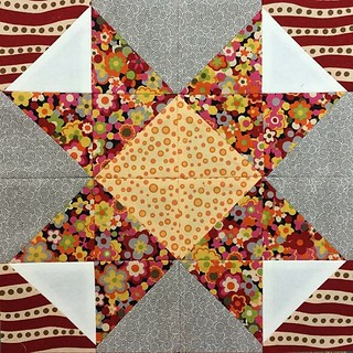 Block 14 of my #16hstquiltsampler #HSTs #freepattern #patchwork #quilts #block Tutorial https://mypatchwork.wordpress.com/2016/01/13/block-14-16-hst-quilt-sampler-tutorial/