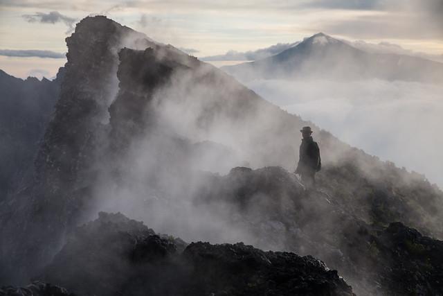On the edge of the Volcano, Nyiragongo, eastern DR Congo