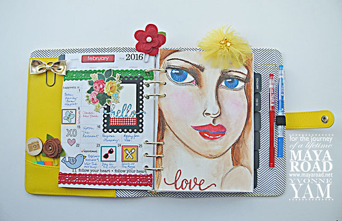 Decorated-planner-pages-by-Yvonne-Yam-for-Maya-Road