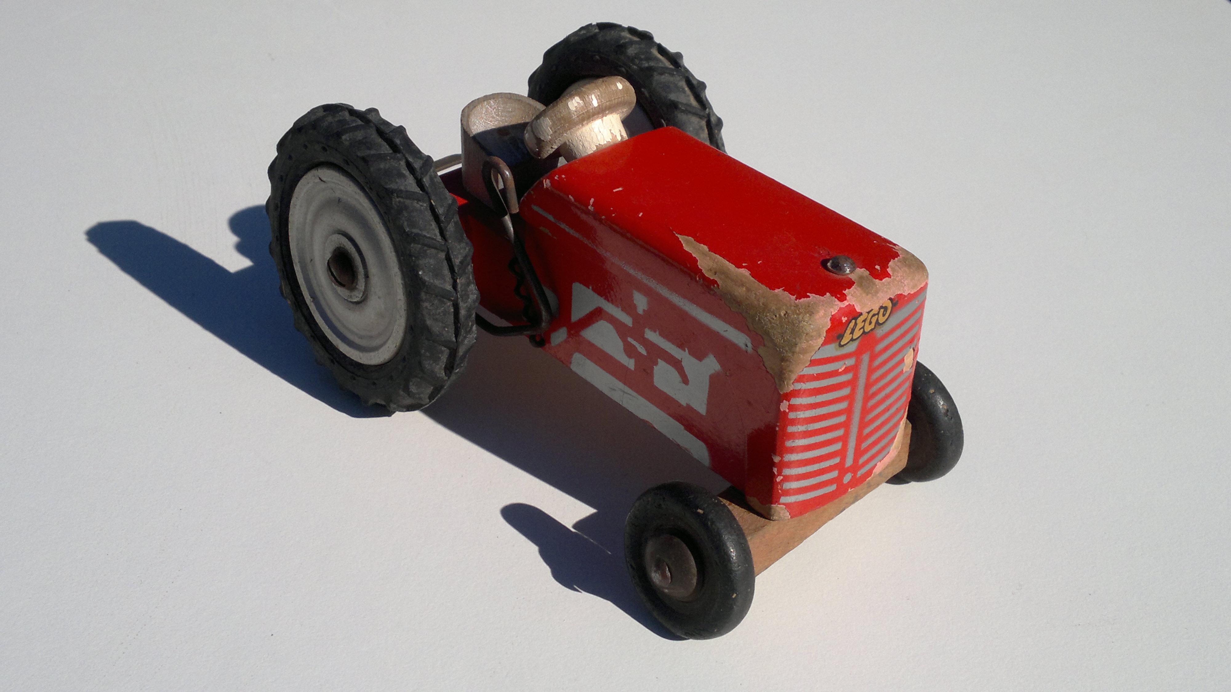 Wood 670a Tractor 1953 Dogbone Logo 01