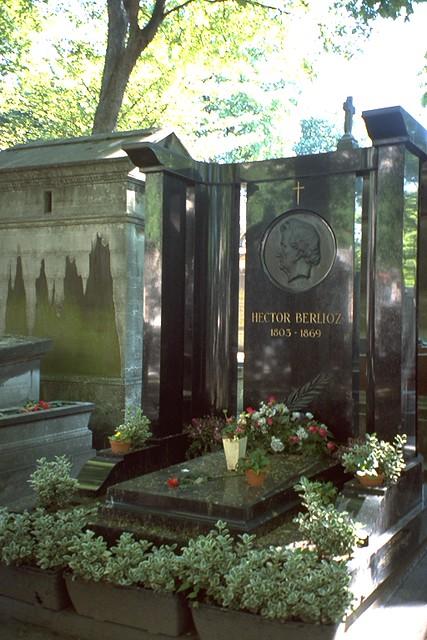 Cimetiere du Monmartre - Grabmal Hector Berlioz
