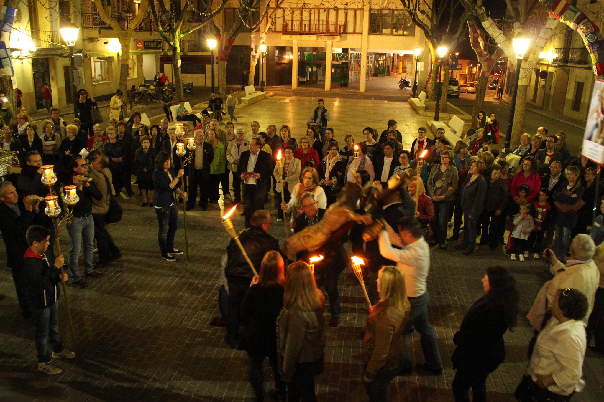 (2014-04-01) -  V Vía Crucis nocturno - Javier Romero Ripoll (58)