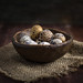 Quail eggs by Arx0nt.