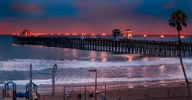 Oceanside Pier South Beach