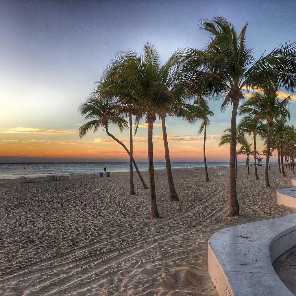 Golden hour on the Fort Lauderdale Strip #instagram_florid