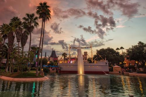 sunset orlando florida disney wdw waltdisneyworld themepark echolake hollywoodstudios disneyshollywoodstudios nikon1424 nikond610