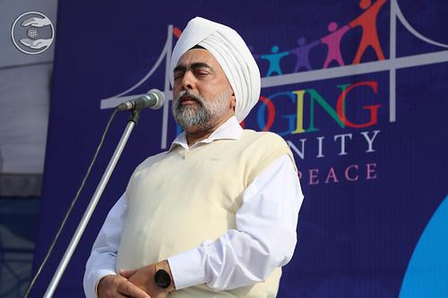 SNM Branch Sanyojak, Sukhdev Singh from Amritsar