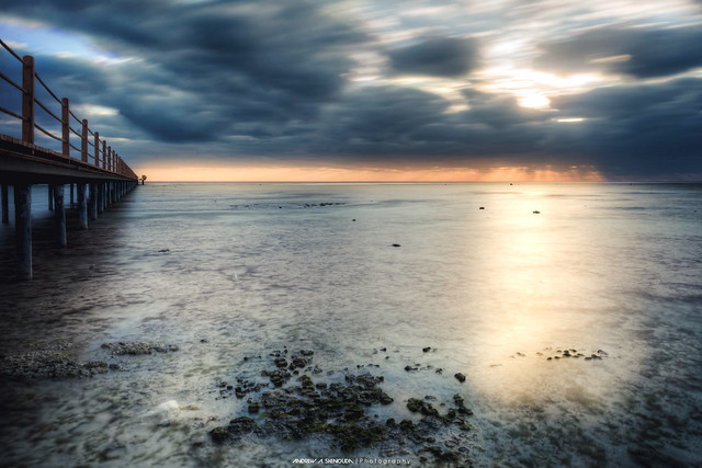 Sunrise over Redsea