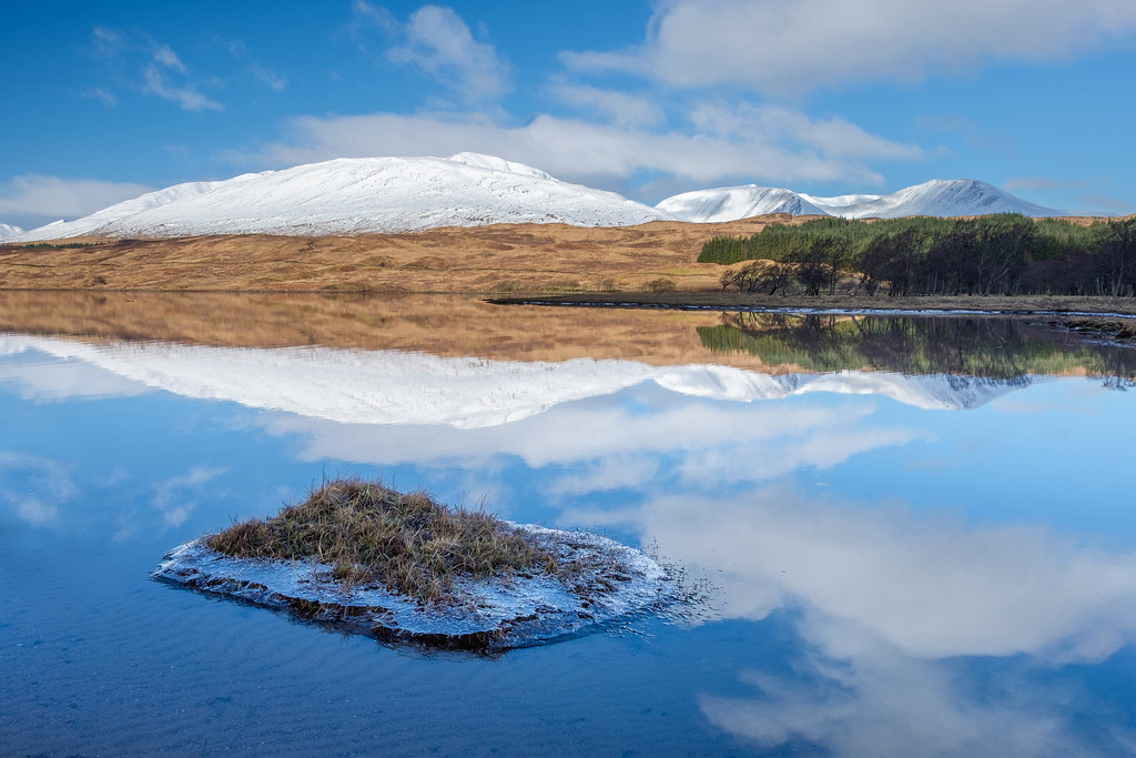 Reflections, Loch Tulla