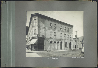 Commercial Building owned by William Arnold, 54 - 56 Kent Street, Ottawa, Ontario / Immeuble commercial appartenant à William Arnold, 54-56, rue Kent, Ottawa (Ontario)