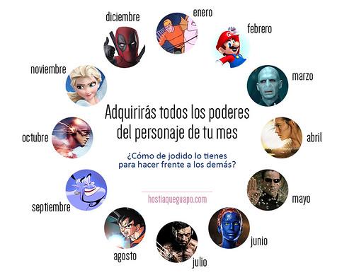 Zodíaco de superpoderes   by hostiaqueguapo.com