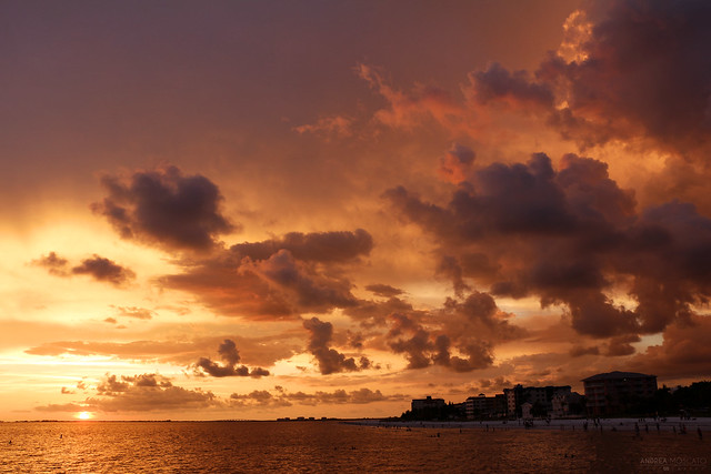 Fort Myers Beach Sunset - Florida
