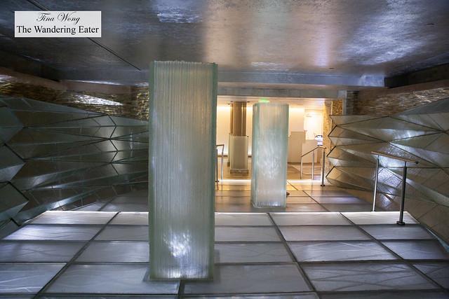 Foyer of La Priarie Spa