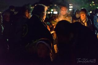 厳島神社 鎮火祭(大晦日)   by Tony Tani