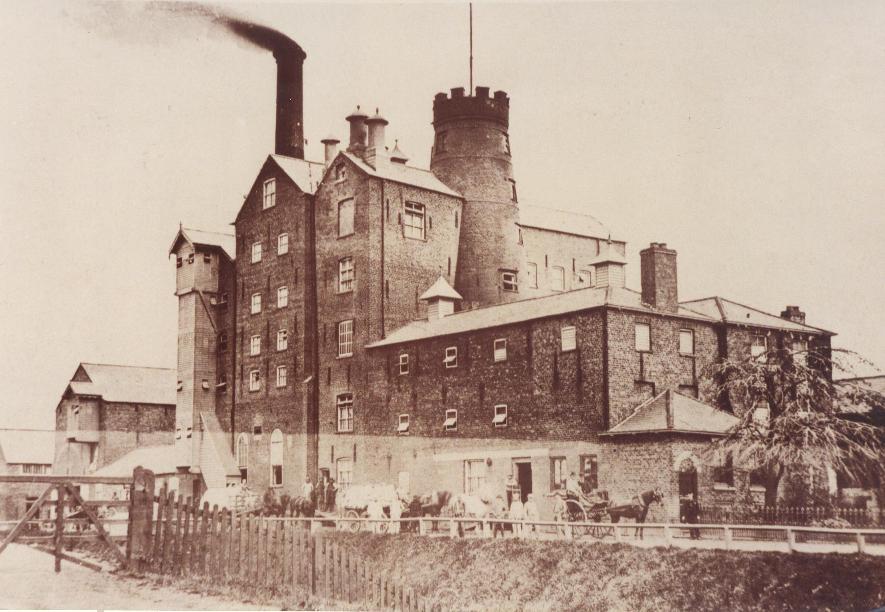 Crathorne's Flour mill, Beverley 1890 (archive ref DDPD-2-2-5)