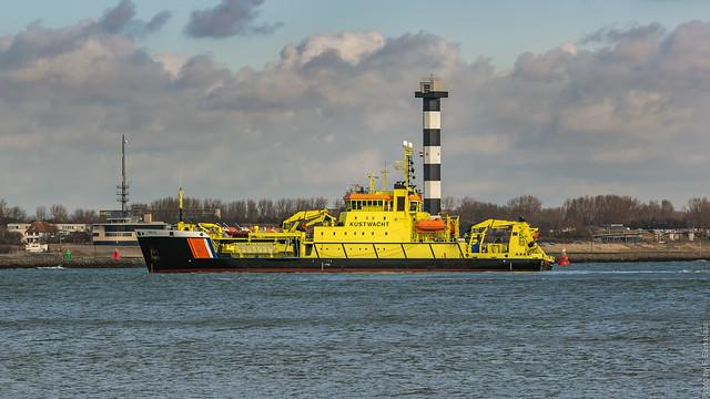 Coast guard ship/Kustwachtvaartuig Arca - Maasmond - Port of Rotterdam