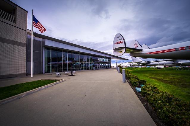The Museum of Flight Entrance - Seattle - Washington