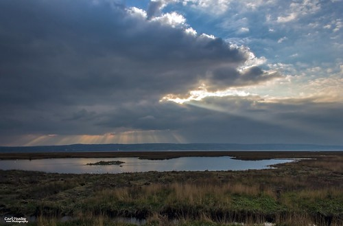 sky wales clouds sunrays wirral holywell parkgate